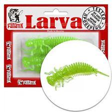 Fanatik LARVA 1.6 2 2.5 3 3.5 4-9cm Gummiköder Gummifisch Aroma Soft Baits