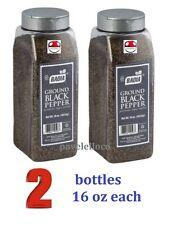 Badia Ground BLACK PEPPER , pimienta molida 16 Ounce x 2 bottles