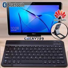 """Para Huawei MediaPad 10"""" tableta SLIM teclado inalámbrico Bluetooth + Soporte Soporte"""