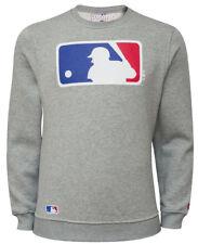 New Era MLB Logo Authentique SWEAT ras-du-cou GRIS PULL M L XL XXXL NEUF