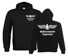 OLD SCHOOL Hoodie | Waffenschmiede Ingolstadt | Reichsadler | Autobauer 885-3-02