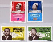 Cameroun Cameroun 1965 440-43 424-27 reelection president Ahmadou Ahidjo MNH