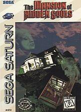 Mansion of the Hidden Souls - Sega Saturn