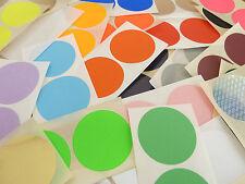 50mm, 2 inch, Rotondo, Circolare Colore Codice Adesivi, COLORATO APPICCICOSO etichette
