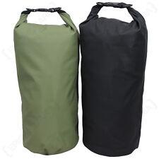 10L IMPERMEABILE trasporto drysack-VERDE NERO colore opzione 10 LITRI Dry Bag