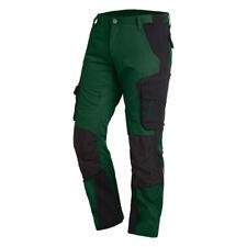 FHB Arbeitshose Bundhose FLORIAN 125100 grün/schwarz, Cordura