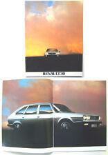 Renault 30 TX & Turbo Diesel 1981-82 Dutch Brochure