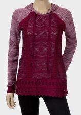 Ladies lace hooded top by BELLE DU JOUR