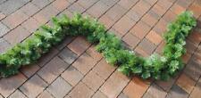 Weihnachtsgirlande 270/300 cm Tannengirlande Weihnachtsdeko 280/240/160 Spitzen