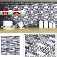 3D Wall Stickers Wallpaper Tile Art Home Bathroom Kitchen Brick Backsplash Decor
