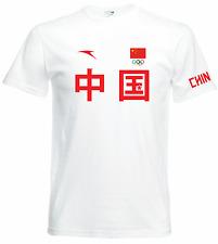 CHINA Olympic T-shirt - weightlifting Liu Xiaojun weightlifting Eleiko -not ANTA
