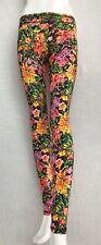AGUA BENDITA SWIMWEAR BENDITO FUN FLOWERS LEGGINGS. MSRP $180.00