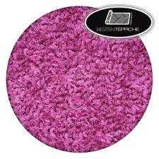 Rund Langlebig Modernen Teppichboden ETON violett große Größen Teppiche nach Maß