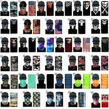 Face Mask Neck Gaiter Balaclava Bandana Scarf Fishing Sun Headwear 47 Styles