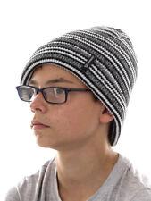 BRUNOTTI bonnet bonnet tricoté hiver noir Charlie Doublure Polaire