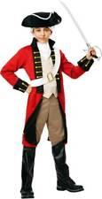 18th Century British Imperial Redcoat Army Uniform Historical Costume Child Boys