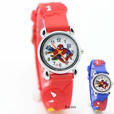 Spider Man Wrist Watch Read Learn Time Boys Girls Kids Stocking Filler Gift