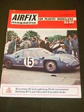 AIRFIX MAGAZINE - CHURCHILL CROCODILE TANKS - DEC 1968