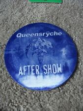Queensryche After Show Tour Concert Pass Peel & Stick Blue Round