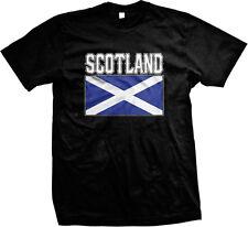Bold Scotland Country Flag - Scottish Pride Nationality Mens T-shirt