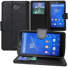 Custodia Portafoglio Supporto Video Sony Xperia E4 E2104 E2105/ Dual