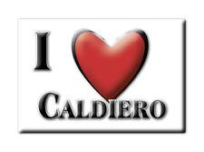 CALAMITA VENETO ITALIA FRIDGE MAGNET MAGNETE SOUVENIR I LOVE CALDIERO (VR)