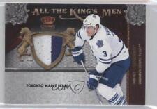 2011-12 Panini Crown Royale All the King's Men Memorabilia Prime 17 Dion Phaneuf