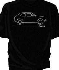 Original sketch Fiesta Mk1 t-shirt