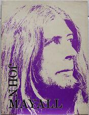 John Mayall 1972 Australia Concert Program Org