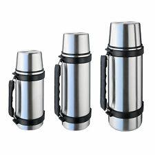 ISOSTEEL Isolierflasche 3 Größen - Isolierkanne Flasche Thermo Kanne Klappgriff