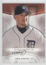 2005 Skybox Autographics Insignia #91 Ryan Raburn Detroit Tigers Baseball Card