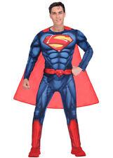 Adult Mens Classic Superman Costume