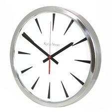 Roco Verre Modern Classic Reloj De Pared 35cm pulido o cepillado Cocina Oficina