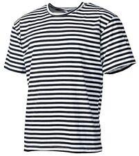 marineshirt Russie rayé chemise marinière/CHEMISE DE MARIN T-SHIRT bleu-blanc