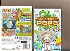 Science Papa Nintendo Wii
