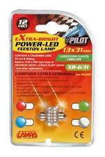 LAMPADA SILURO A 6 LED 18X31MM BLU 12V COD.58422