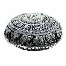 Mandala Pillows Case Round Bohemian Meditation Throw Pillow Cushion Cover Case
