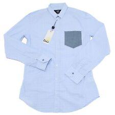 11705 camicia D&G DOLCE&GABBANA BRAD azzurro uomo shirt men