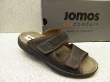 Jomos® reduziert  Pantolette braun große Größen gratis Premium-Socken (541)