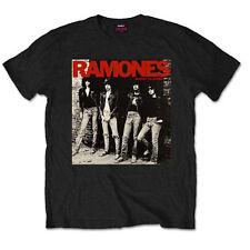 The Ramones Rocket To Russia Joey Dee Dee Licensed Tee T-Shirt Men