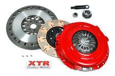 XTR DUAL-FRICTION CLUTCH KIT+CHROMOLY FLYWHEEL 96-04 FORD MUSTANG GT 4.6L 6BOLT