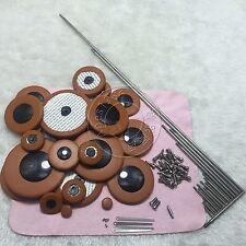 Tenor sax pads Set of 25 pads Good material +Tenor sax repair parts