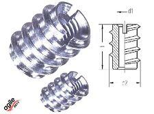Einschraubmuffen Einschraubmuttern DIN 7965 Stahl verzinkt M4 bis M8