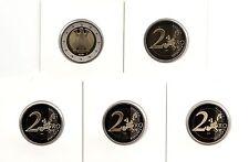 BRD 2 Euro ADLER ADFGJ Stempelglanz Wählen Sie unter: 2002-06, 08,10,11,14,16,17