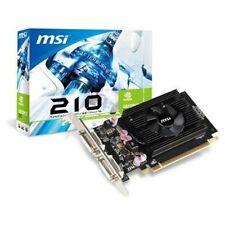 MSI NVIDIA GeForce 210 (N210-512D2) 512 MB DDR2 SDRAM PCI Express x16 Video Card