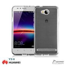 Clear Soft TPU Gel Jelly Rubber Case Cover For  Huawei 4G Y311 /  Y3 II  /  Y3 2