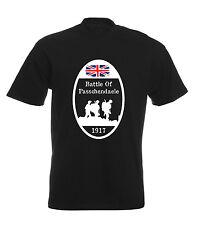 First World War Passchendaele T Shirt Remberance Day Tee Shirt British Flag