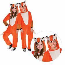 bambini ragazzi Zipster Mr.Fox TUTA COSTUME FESTA DEL LIBRO ANIMALE WILD