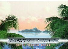 Thunderbirds Film Individual Trading Cards