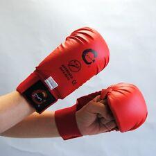 SPORTSMASTER Karate EKF Handschutz ohne Daumen.Rot oder blau.Ju Jutsu, wing Tsun